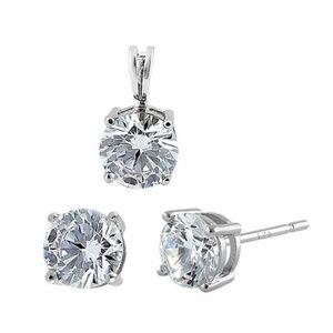 Jewelry - Sterling Silver Pendant & Earring Set